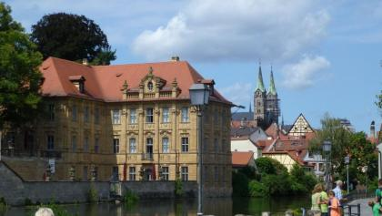 Bamberg-Villa Concordia mit Dom