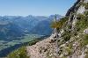 Blick ins Tannheimer Tal - @ Autor: Julian Knacker - © Quelle: Pfronten Tourismus
