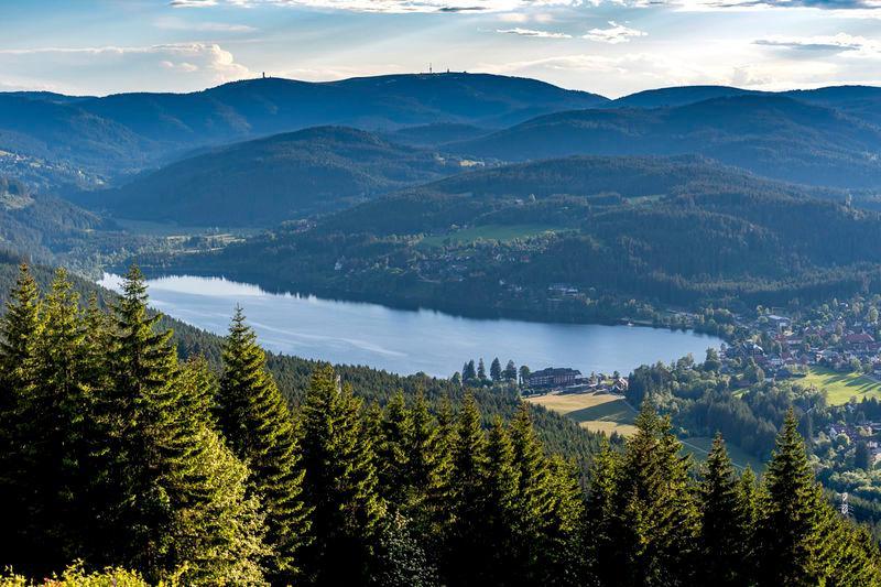 Seen, Steigung und der Wasserfall