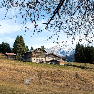 Clemp mountain huts and the Brenta Dolomites