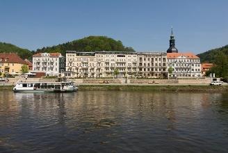 Foto Die Tour beginnt in der Nähe von Bad Schandau.