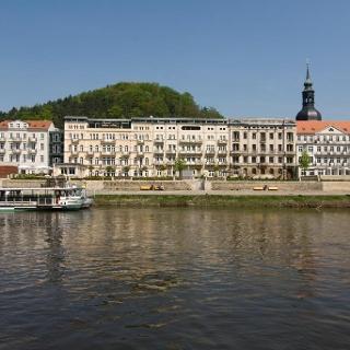 Die Tour beginnt in der Nähe von Bad Schandau.