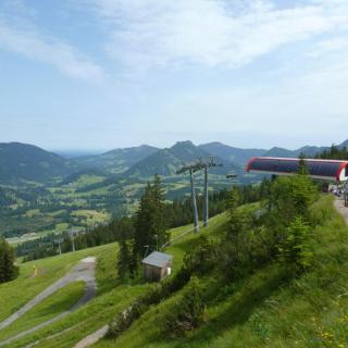 Die Bergstation der Iselerbahn