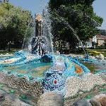 Mosesbrunnen im Stadtpark Bärnbach