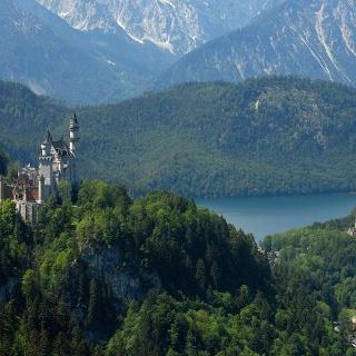 Königsschlösser und Alpsee