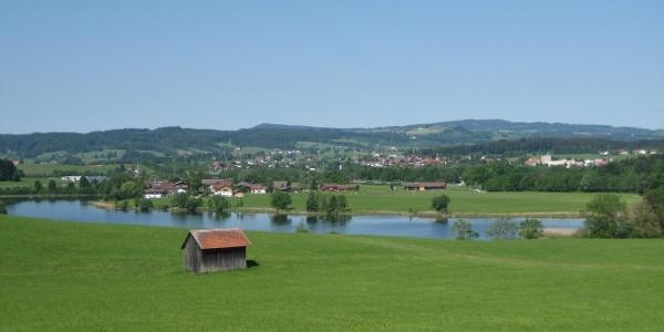 Der Sulzberger See von Hofstätten
