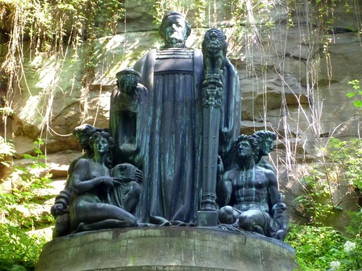 Foto Richard-Wagner-Denkmal im Liebethaler Grund