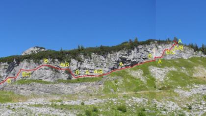 Klettersteig Loser : Bergfex sissi klettersteig d am loser tour