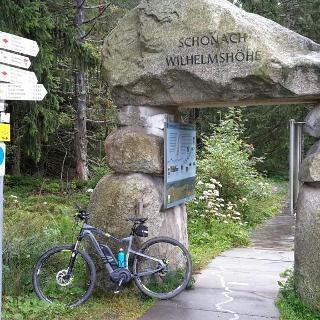 Start bei der Wilhelmshöhe