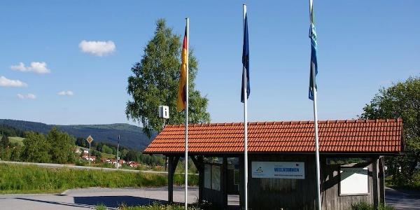 Wanderparkplatz P1/Ahorn