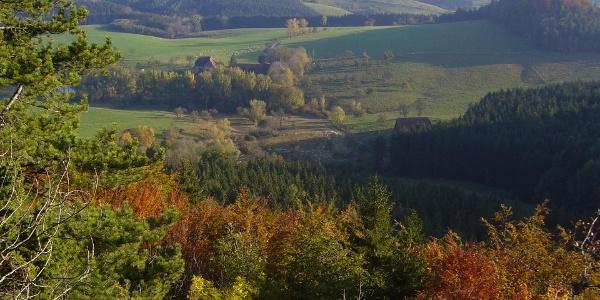 Blick vom Wenzelstein