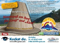 Riesenspaß am Berg © Tourismusverband Tannheimer Tal