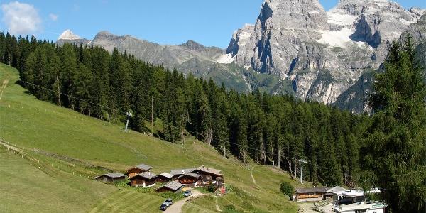 Bergstation Ladurns