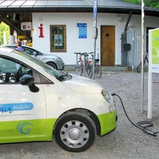 E-Tankstelle in Hohenschwangau