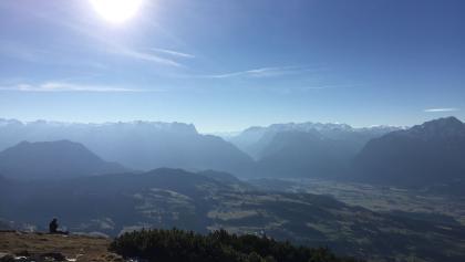 Ausblick ins Salzachtal