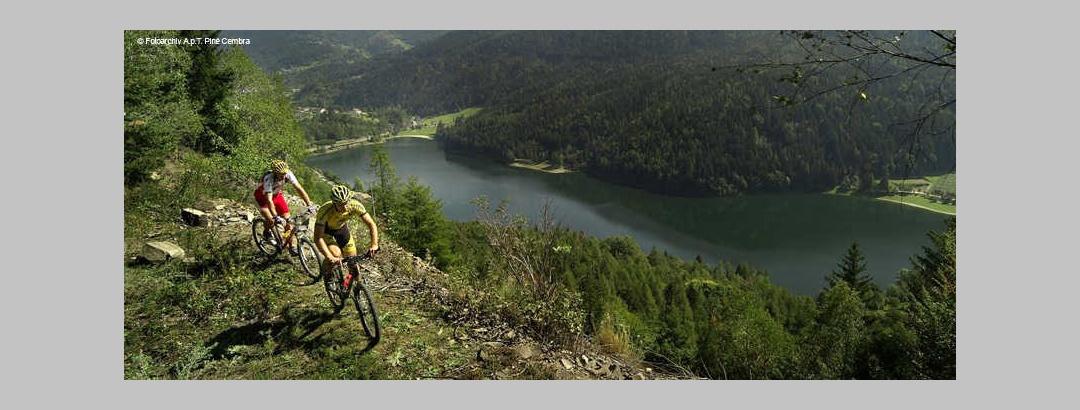 Mountainbiken auf dem Altopiano di Pinè und im Valle di Cembra