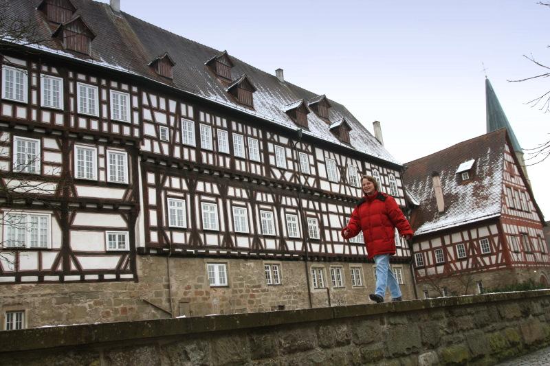 Mit Luzia Aßfalg wandern wir auf den Gaildorfer Höhenrücken   - © Quelle: Hohenlohe + Schwäbisch Hall Tourismus e.V.