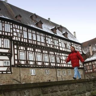 Mit Luzia Aßfalg wandern wir auf den Gaildorfer Höhenrücken