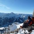 Gipfelrast am Ponten