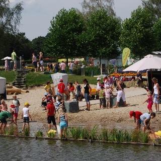 Wasser-Matsch-Spielplatz
