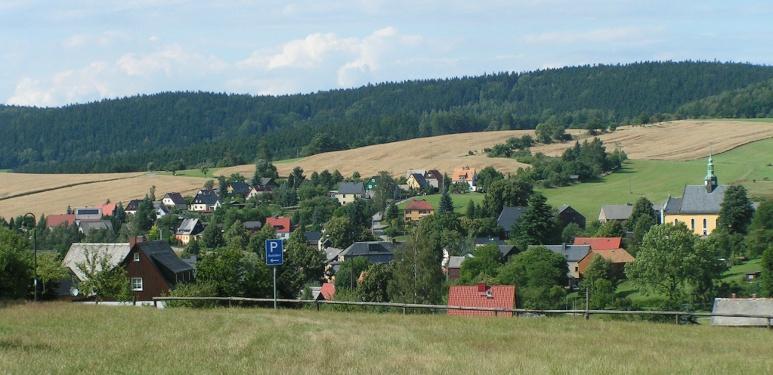Foto Ortsansicht von Hinterhermsdorf.
