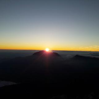 Sonnenaufgang am Hocheck