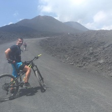 Auf den Etna - 2680 mt