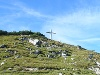 Der Gamskopf mit Kreuz und Informator  - @ Autor: kUNO  - © Quelle: Tourismusverband Tannheimer Tal