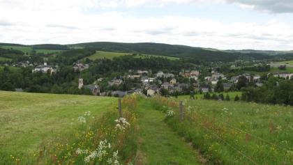 Blick vom Kammweg auf Neuhausen