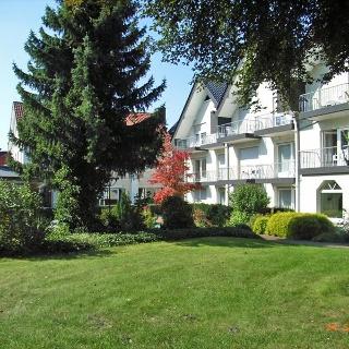 Ferienhotel Becker Ansicht von der Parkseite