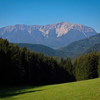 Schneeberg von der Kaiserebenwiese