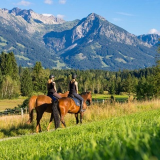Reiten in Muderbolz im Oberallgäu