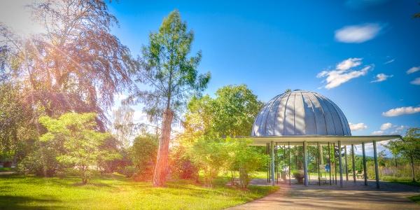 Trinkpavillon im Kurpark - Firedirchroda