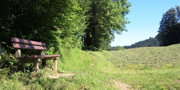 Idyllischer Rastplatz zwischen Frauenhof und Heinrich