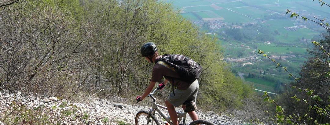 Mountainbike am Gardasee