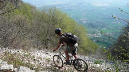 Mountainbike am Gardasee