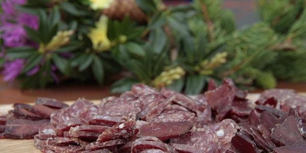 Ziegen-Trockenfleisch
