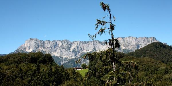 Das Untersbergmassiv in voller Pracht