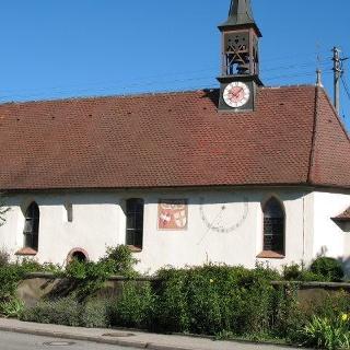 St. Johanneskapelle in Zarten