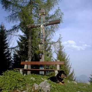 Zinkenkogel Gipfelkreuz