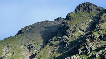 Kreuzeck von der Feldnerhütte (mit Teleobjektiv)