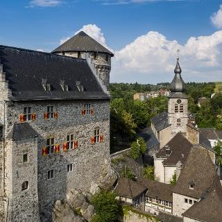 Burg Stolberg - Seitenansicht