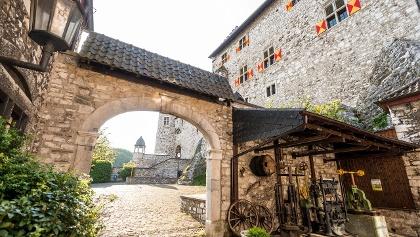 Torbogen an der Burg Stolberg