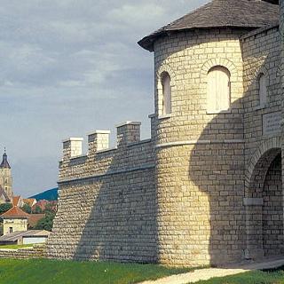 Rekonstruiertes Kastell Biriciana