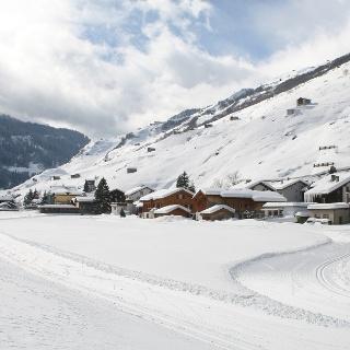 Langlaufloipe Vals; Foto: Adrian Vieli