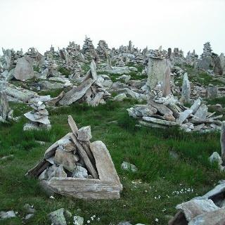 Steinmännle am Petersköpfle.