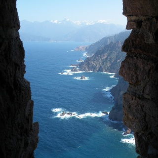 Blick vom Tour de Turghiu