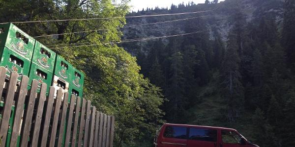 Materialseilbahn Soiernhaus