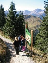 Der Erlebnisweg © Tourismusverband Tannheimer Tal
