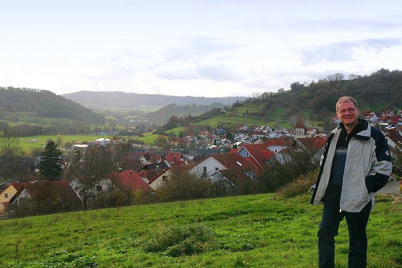 Mit Bürgermeister Maschke auf Ausblickswanderung...    - © Quelle: Hohenlohe + Schwäbisch Hall Tourismus e.V.
